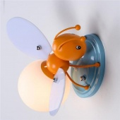 Creative LED Bee Glass Wall Lamp