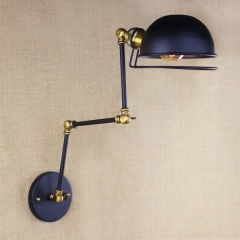 France RH Loft Retro Industrial Adjust Long Arm Wall Lamp Fixtures