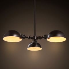 3 Heads Retro Nordic StyleIron Art Bar Cafe Pendant Lamp Hanging Light Fixture