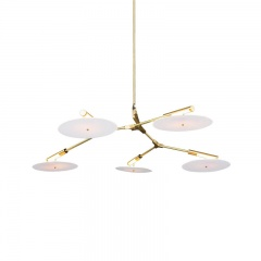 3/5 Lights CD Record Flying Saucer Chandelier Suspension lamps