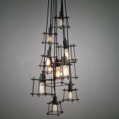 Bismuth Cube Cluster Pendant Light Chandelier