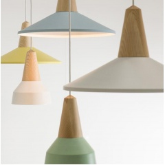 Minimalist Scandinavian Wooden Pendant Light