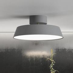 Modern Adjustable Metal and PVC Shade Recessed Lighting