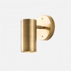 Brass Adjustable Wall Light Sconce