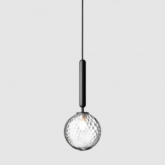 Minimalist Glass Pendant Light