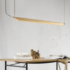 Minimalist LED Pendant Island Light