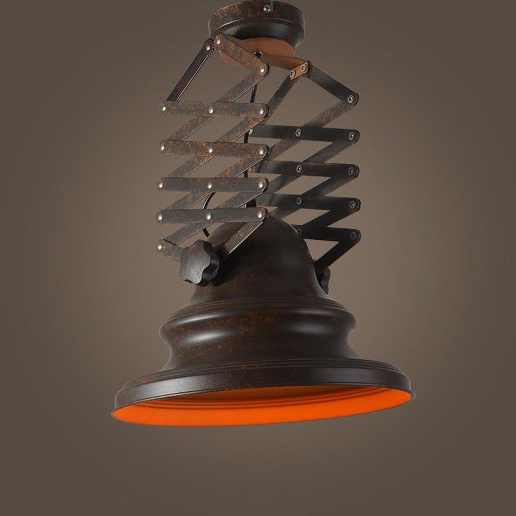 Industrial Chandelier Simple Creative Retro Retractable Lamps