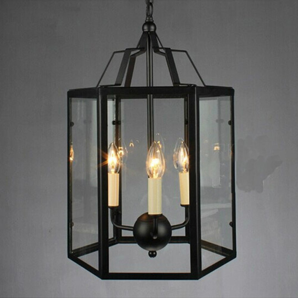 Adjustable Retro 13.78 Inches Chandelier Vintage Traditional 3-lights