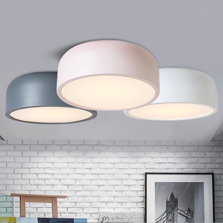 Pastel Round Ceiling Flush Mount