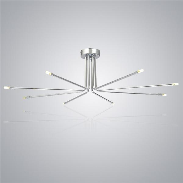 Modern Ceiling Lamp Chrome Chandelier Light