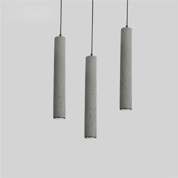 Vintage Cement Ceiling Lamp