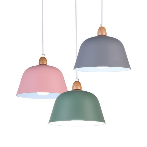 Nordic Aluminum Shade Pendant Lights
