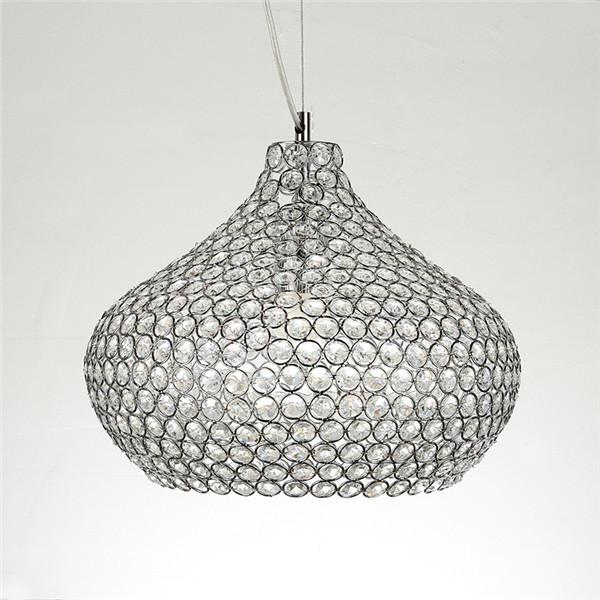 Crystal Chandelier Chrome Lighting