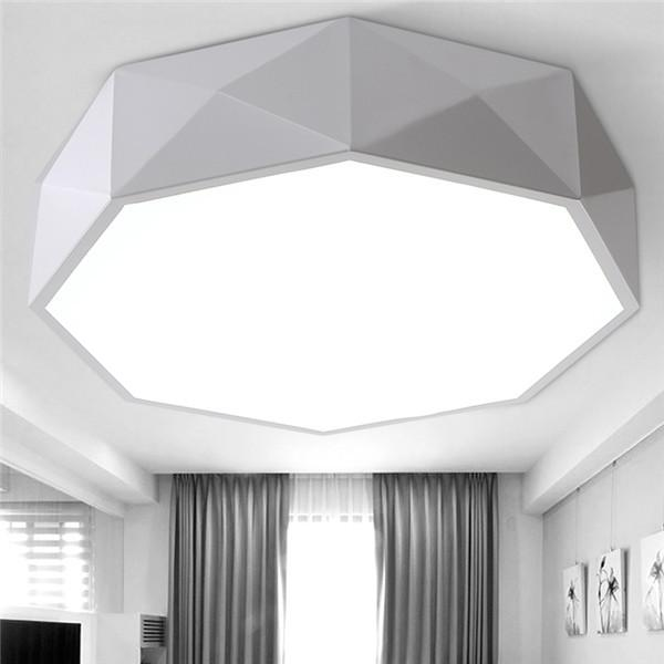 Geometry Acrylic LED Ceiling Lamp