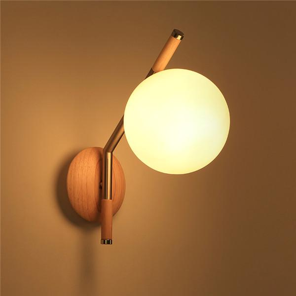 Nature Wooden Wall Sconces