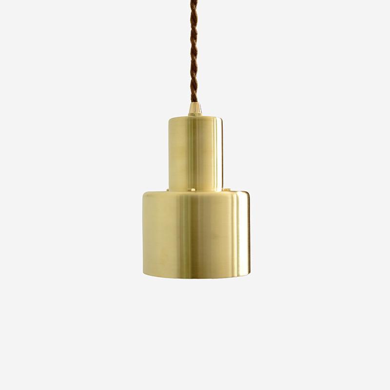 Brushed Brass Pendant Light