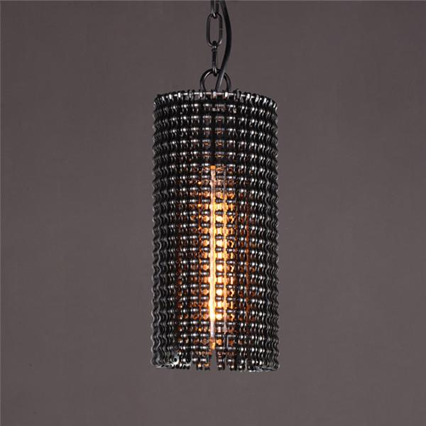 Industrial Black Metal Pendant Lights