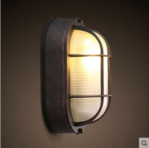 Retro Rustic LED Wall Lamp Fixtures Indoor Outdoor Lighting For Gallery Hallway