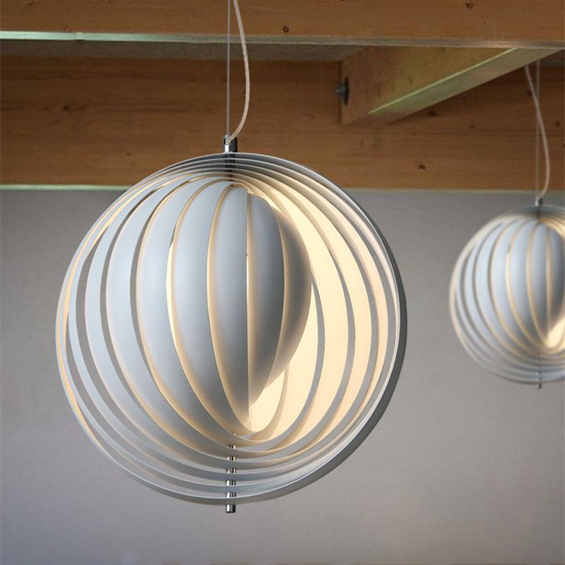Modern Art Moon Pendant Lamp Ceiling Lighting Artwork