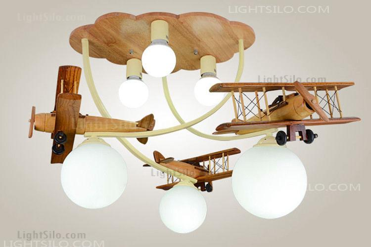 Plane Aircraft Flush Mount Ceiling Light