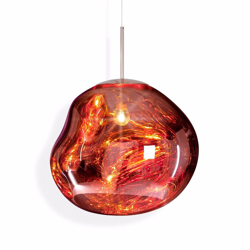 Melt Pendant Lamp Suspension Light Glass Hanging Lighting Fixture