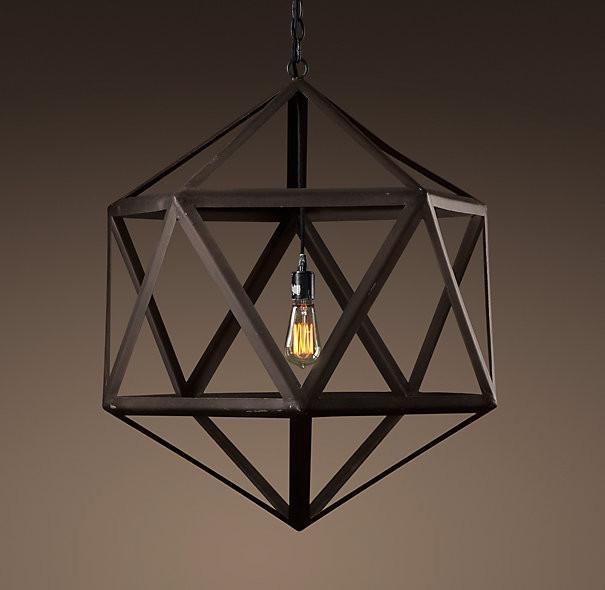 Polyhedron Pendant Light