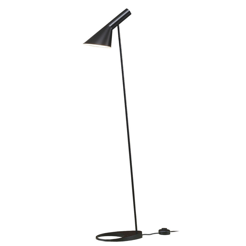 Modern Classic Arne Jacobsen Floor Lamp Light Replica Black White Red Dark Blue