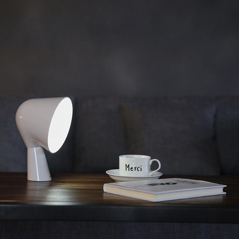Modern Foscarini Binic Style Table Lamp Children's Room Cute Little Desk Light