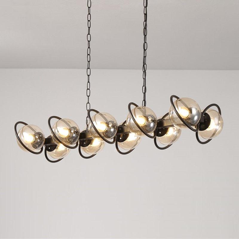 Glass Pendant Light Large Chandelier Lighting Living Room Lamp Ceiling Fixture