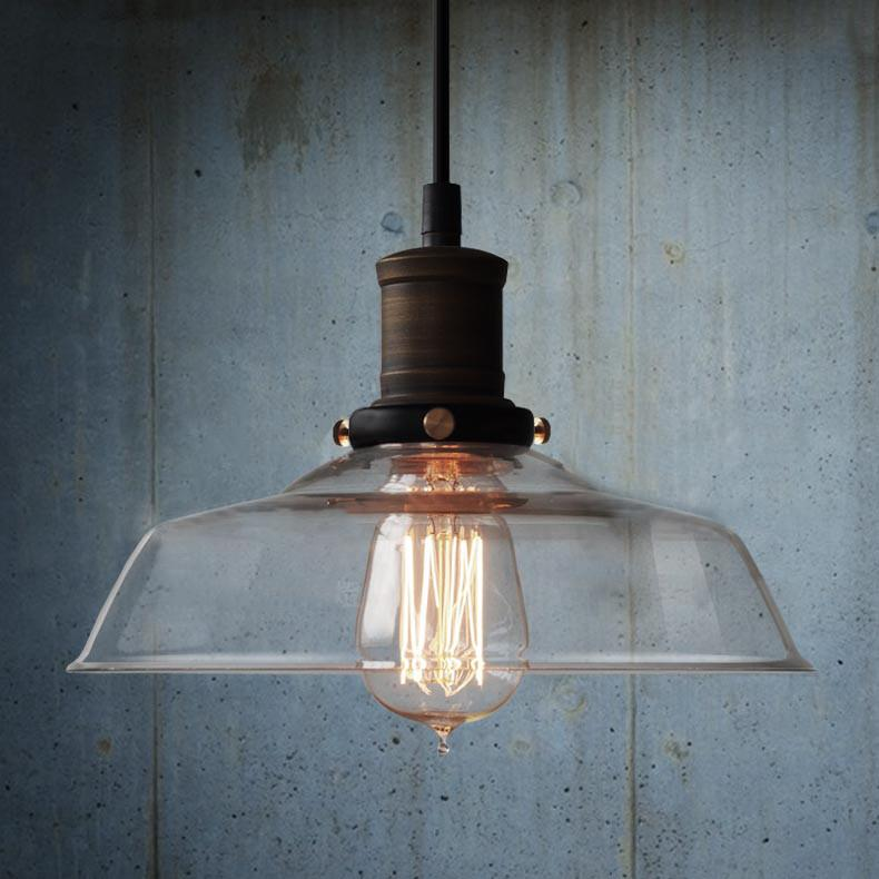 Pendant Light With Gl Shade