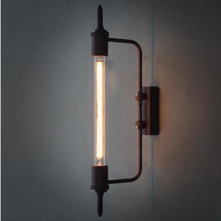 Antique Pencil Bulb Wall Light