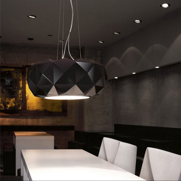 White/Black Contemporary Murano Due Deluxe Pendant Lamp Ceiling Light Suspension Chandelier