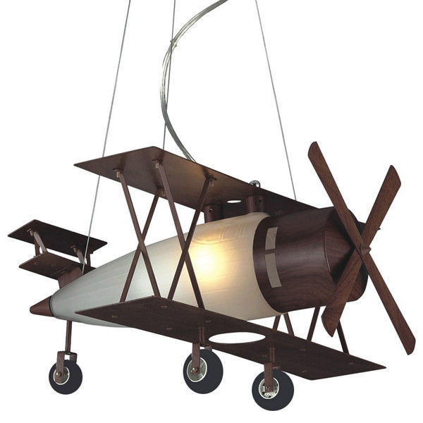 Elk Lighting Bi-Plane Down Lighting Pendant Lamp for Kid Children's Bedroom
