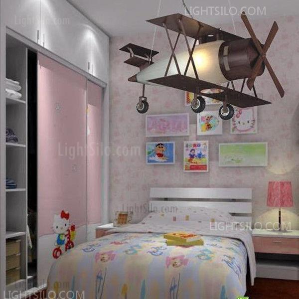 Elk Lighting Bi-Plane Down Lighting Pendant Lamp for Kid Children\'s Bedroom