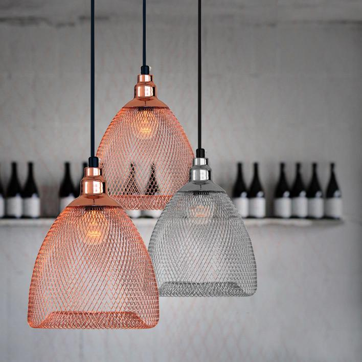 Bobby Cage Mesh Pendant Light