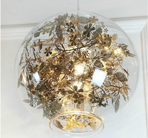 Artecnica Tangel Globe Flower Light Pendant Lamp
