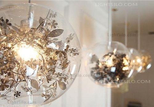 Artecnica Tangel Globe Flower Light Pendant Lamp