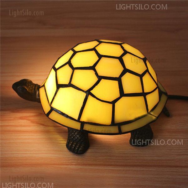 Novelty Turtle Nightlight Romantic Animal Table Lamps Kids Bedroom