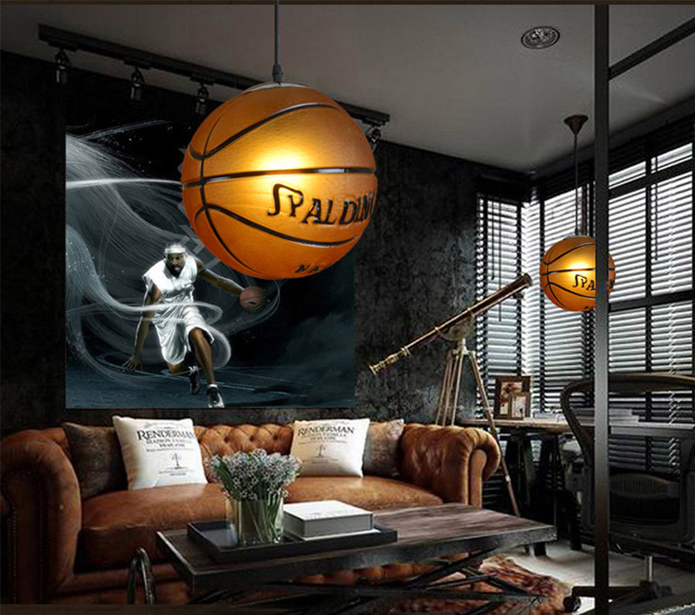 Basketball LED Pendant Light For Living Room