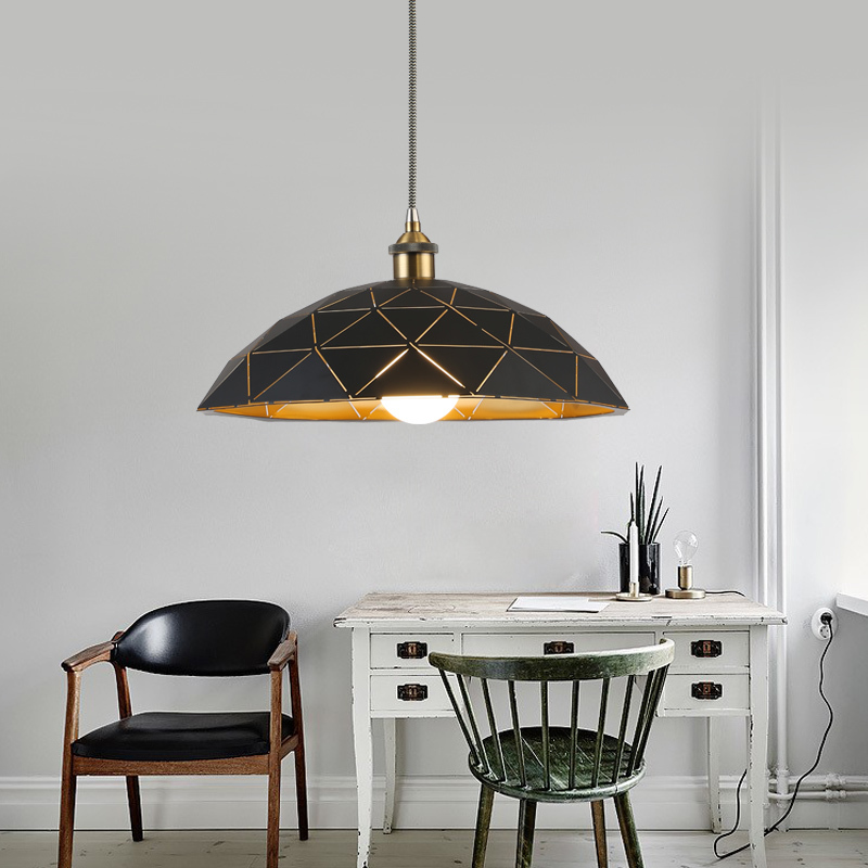 Geometric Patterns Pendant Light Modern