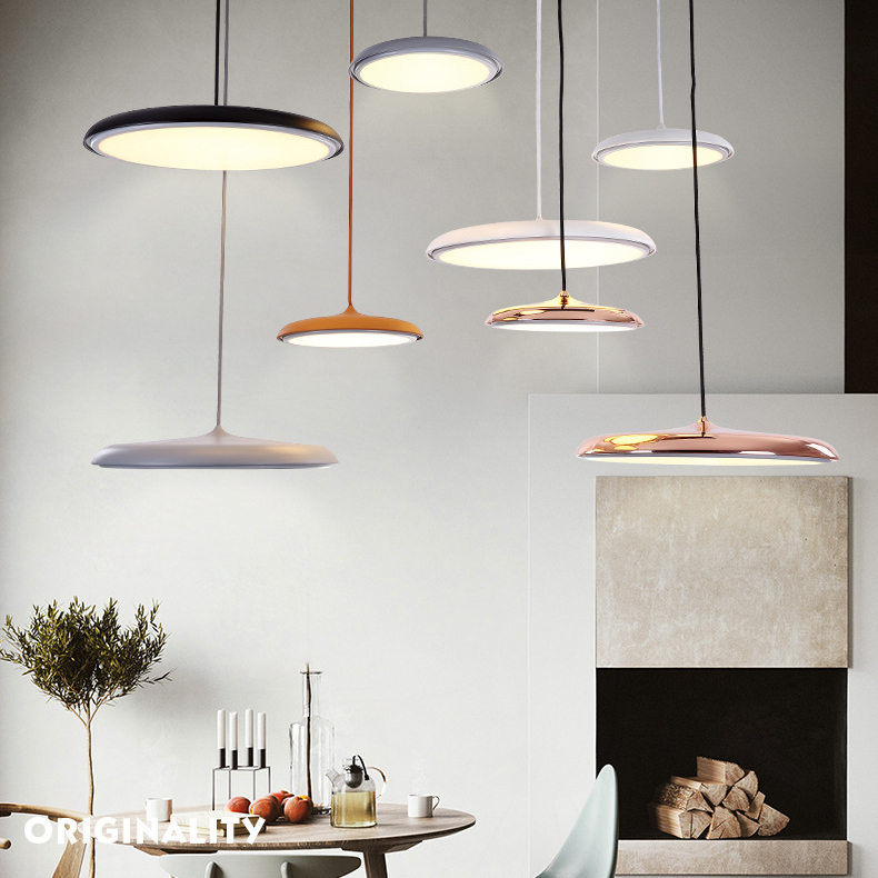 LED Hanging Light Flying Saucer Ultrathin Inspired By Nordlux