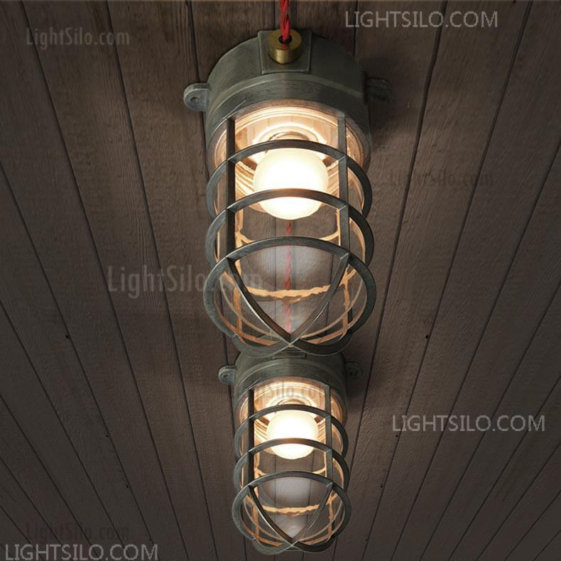 Clic Nautical Bunker Ceiling Light