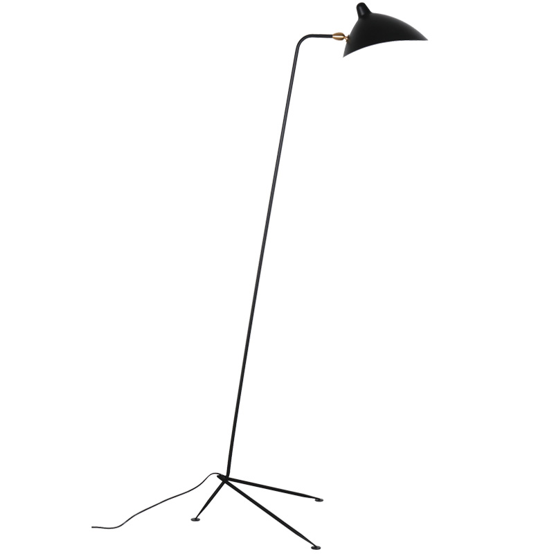 Serge Mouille One-Arm Floor Lamp