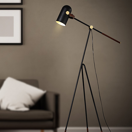 Carronade Low Floor Lamp Modified Le Klint Modern Style