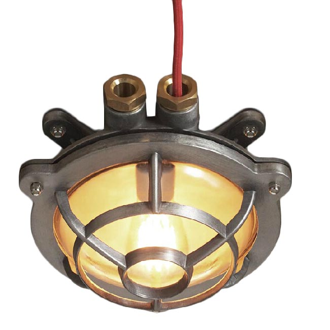 Industrial Heavy Aluminium and Copper Water Proof Wall Sconce
