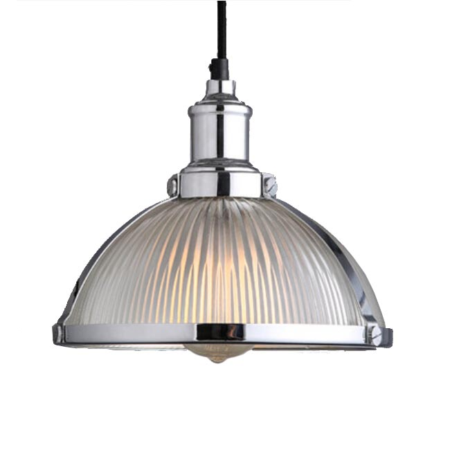 Antiqaue Industrial and Strip Glass Shade Pendant Lighting