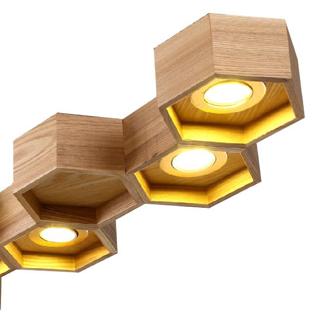 Modern Wood Nest Pendant Lighting