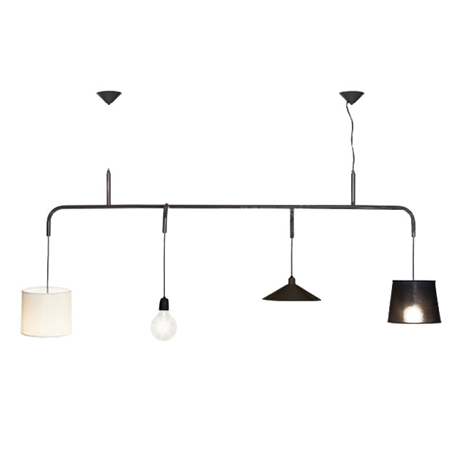Simple Style 4 Different Shades Pendant Lighting