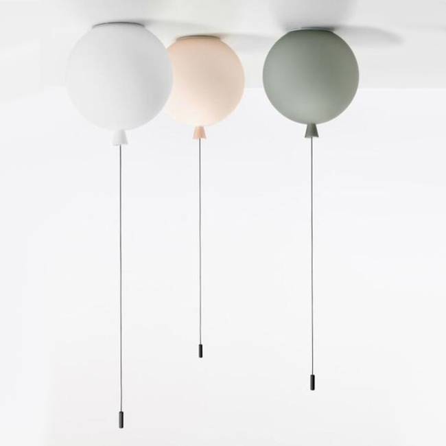 Balloon Glass Pendant Lighting