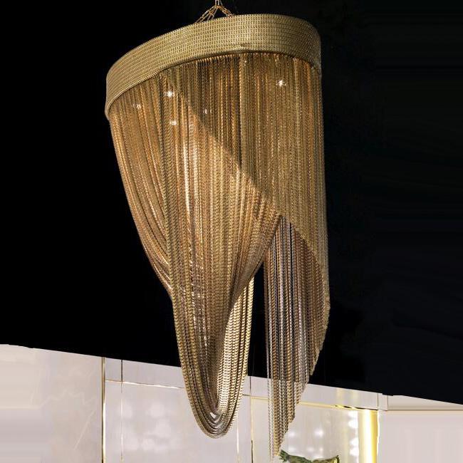 Felicity Italian Gold Chandelier